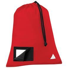 Sacca Per Palestra (6 Litri) (taglia Unica) (rosso)