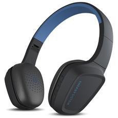429226 Padiglione auricolare Stereofonico Senza fili Nero, Blu auricolare per telefono cellulare