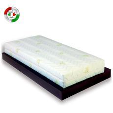 Materasso Memory foam sfoderabile una piazza anallergico 80x190 cm