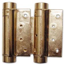 Cerniera per Porta Bommer a Molla Bronzata Art 108 Misura 75 mm