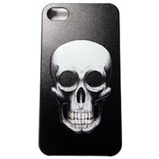 Cover Custodia Iphone4/4s Skull Design Rilievo Teschio