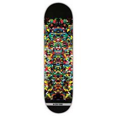 Tavola Da Skate Deck Zy X Xy Natural 8.12 Nero Taglia Unica