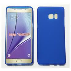 Custodia Cover Case Tpu Blu Per Samsung Galaxy Note 7 N930