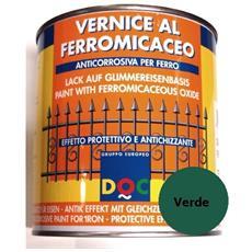 Vernice Smalto Finitura Al Ferromicaceo Anticorrosiva 750 Ml Grigio Verde - 30526