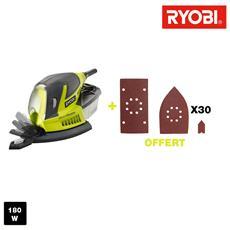 Multifunzione Sander Ryobi 180w - Accessori 30 Rms180-sa30