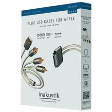 in-akustik Premium iPlug Apple Connector - USB / AV 2,0 m