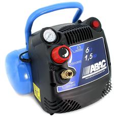 Start O15 - Compressore Portatile 1.5 Hp - Serbatoio 6 Lt - Aria Compressa