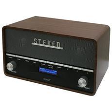 DAB-36, Orologio, LCD, Digitale, DAB+, FM, PLL, Blu