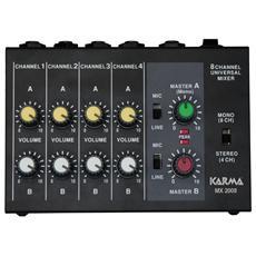 Mixer microfonico 8 canali