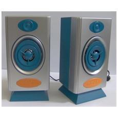 2 Mini Speaker coppia casse per PC MP3 Smarthphone Ipod Stereo speaker system