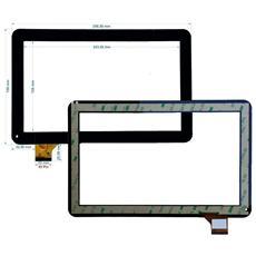 Ricambio Touch Screen Vetro Glass Nero Display Schermo Vetrino Per Majestic Tab 301 3g 10.1'' + Kit Attrezzi