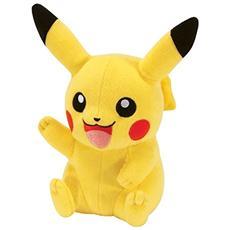 Pupazzo Peluche Pokemon Pikachu 20 cm