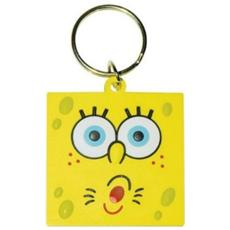 Portachiavi Spongebob Squarepants Pvc Surprised