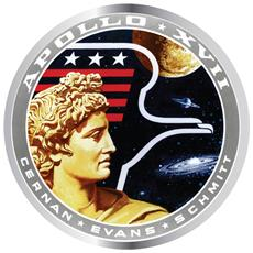 Nasa - Apollo Xvii (badge Smaltato)