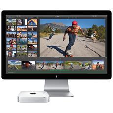 Mac mini 1.4GHz 1GHz i5-4260U Mini PCI Argento Mini PC
