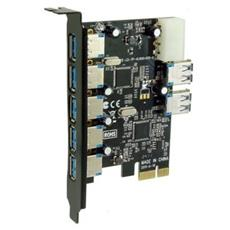 SE-PCIE-USB3-07, PCIe, USB 3.0, Y, Half-height (low-profile) , PC, Cablato