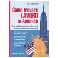 Come trovare lavoro in America. Una guida preziosa per affermarsi nel Paese delle grandi occasioni