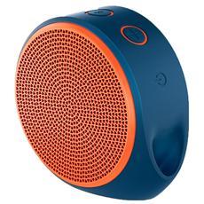 X100 Altoparlante Mobile Speaker Portatile per Smartphone 3W Bluetooth - Arancione