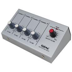 Mixer microfonico 4 ingressi