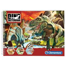 Sketchbook Le Dino Avventure