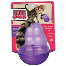 Per gatti modello Woober riempibile con bocconcini e snacks dondolante e divertente