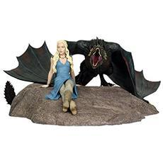 Statua Game Of Thrones Statue Daenerys E Drogon 8 X 18 X 23 Cm