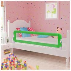 Barriera Di Sicurezza Per Letto Bambino 150 X 42 Cm Verde