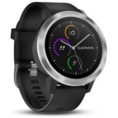 Vivoactive 3 Sportwatch con GPS Bluetooth e Cardiofrequenzimetro Colore Nero / Argento