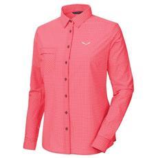 Puez Mini Check Dry W L / s Shirt