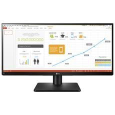 """29UB67 Monitor 29"""" IPS 2560x1080 Tempo di risposta 5ms Contrasto 5M: 1 Luminosità 300 cd / m² HDMI USB"""