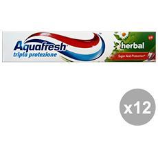 Set 12 Dentifricio Herbal 75 Ml. Prodotti Per Il Viso