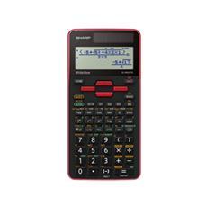 Calcolatrice Scientifica LCD 16 Cifre Colore Rosso