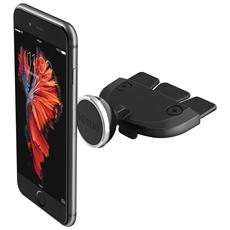 iTap Supporto magnetico da CD slot per iPhone e smartphone - Nero