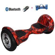 10 Pollici Hoverboard Smart Balance Monopattino Elettrico Pedana Scooter Bluetooth Due Ruote Con Batteria Samsung Fire