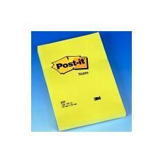 confezione da 6 pezzi - blocco 100fg post-it®giallo canary 102x152mm 659