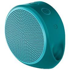 X100 Altoparlante Mobile Speaker Portatile per Smartphone 3W Bluetooth - Verde