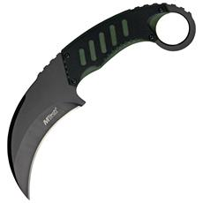 Coltello Tactical Karambit Neck black and green