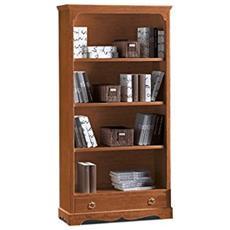 Libreria In Legno Da 94x36x189h