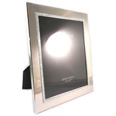 photo frame 'design' argento (20x25 cm) - [ n9595]