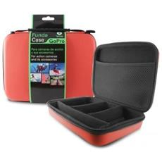 Bxgobag02rj-borsa Per Fotocamera E Accessori Sportivi, Taglia Piccola, 250 X 180 X 70 Mm, Colore: Rosso