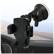 *Puro Supporto Universale Auto Con Staffa Orientabile Vetro Small