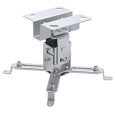 ICA-PM 2S - Supporto a Soffitto per Proiettori Estensione 130 mm Silver