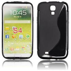 Custodia Back Lux per Samsung Galaxy S4 I9500 Nero S Line