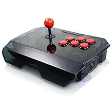 Thunder Serie N1-Q Joystick Professionale Giochi Arcade 2in1 For Playstion3 / PC Pulsanti Rossi