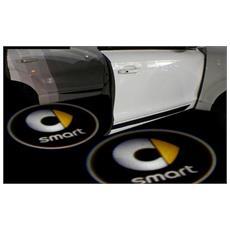 Proiettori Con Led Per Auto Con Il Logo Smart