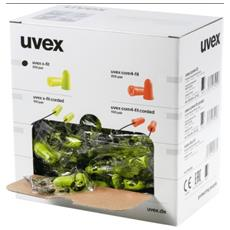 Tappi Auricolari Di Protezione Uvex X-fit Snr 37 Uvex - Confezione Da 200 Paia