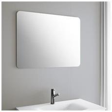 Specchio Bagno 900x800 Rota Specchiera Vetro 5mm Arredo - Specchio