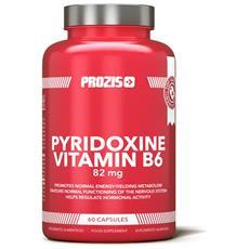 Piridossina Hcl Vitamina B6 82 Mg 60 Capsule - Energia Prestazioni -