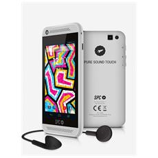 Pure Sound Touch, MP4, Flash-media, Argento, 3.5mm, Litio, 840 x 480 Pixel
