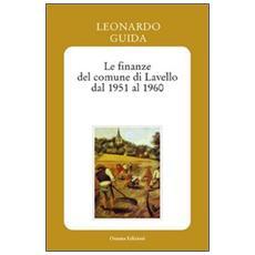 Le finanze del comune di Lavello dal 1951 al 1960